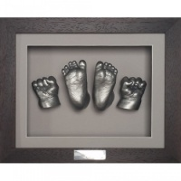 Classic 10x8'' Single Chocolate Frame